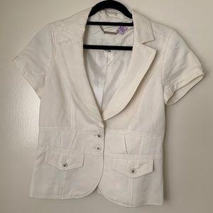 White House Black Market Career Jacket